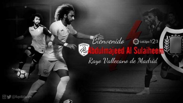 El Rayo se hace con la cesión de Abdulmajeed Al Sulaiheem