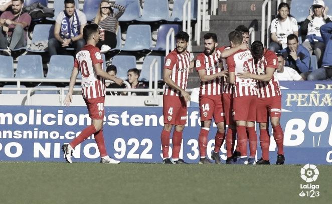 CD Tenerife - UD Almería: Puntuaciones de la UD Almería en la 35ª jornada de LaLiga 1|2 |3