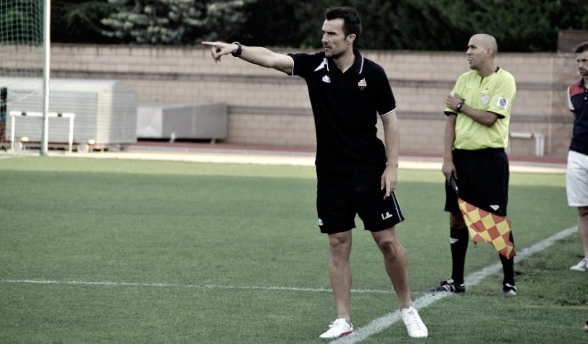 """López Garai: """"En cuanto a puntuación, el equipo está por debajo de lo que merece"""""""