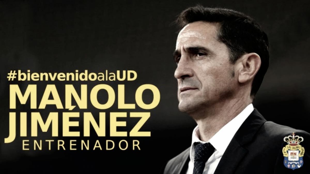 Manolo Jiménez, nuevo entrenador de Las Palmas