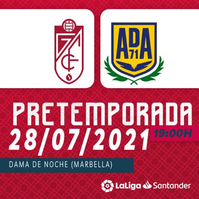 El Granada CF jugará un amistoso contra el Alcorcón
