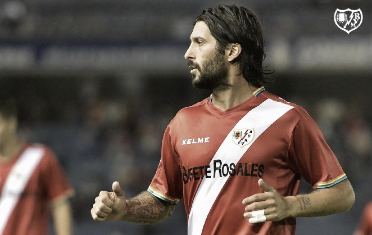 Chori Domínguez animó al Rayo