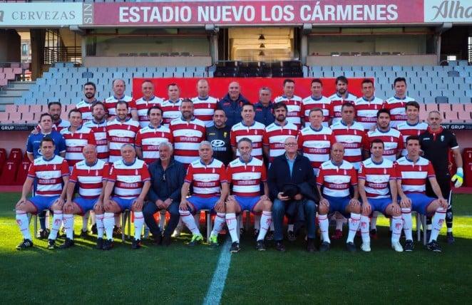 El Granada CF renueva el convenio con la Asociación de Veteranos