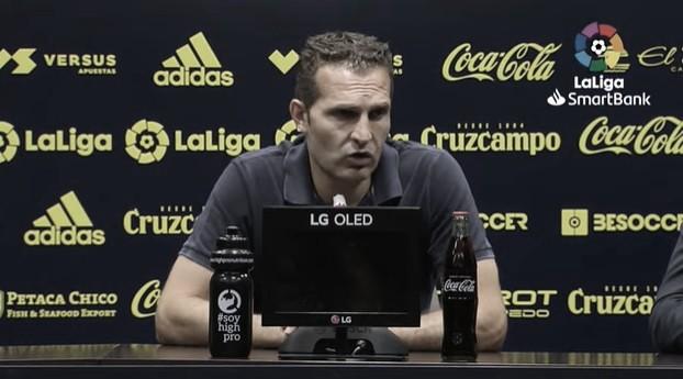 """Rubén Baraja: """"Hemos logrado tres puntos ante un rival magnífico"""""""