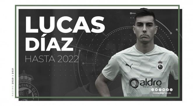Lucas Díaz renovado hasta 2022. Fotografía: Real Racing Club