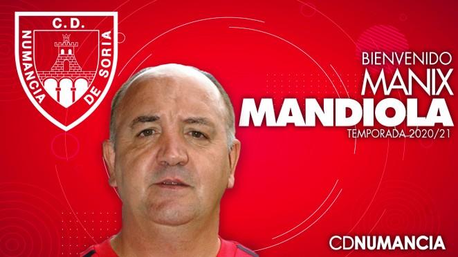 Manix Mandiola, nuevo entrenador numantino