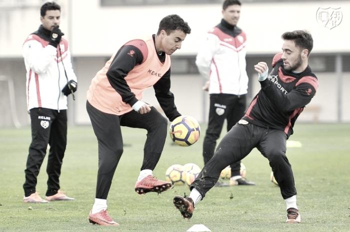 Nueva sesión de entrenamiento de cara al partido frente al Granada