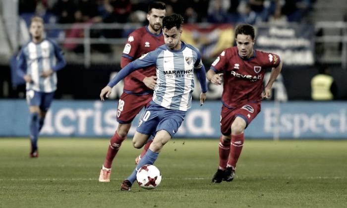 El Numancia se lo cree y apea de la Copa del Rey al Málaga