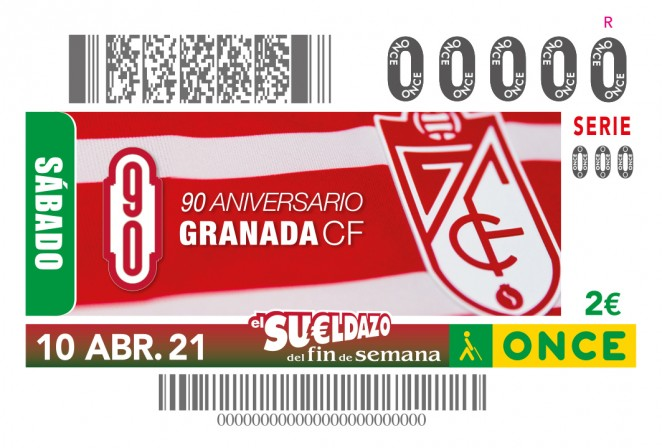 El Granada CF tendrá un cupón de la ONCE conmemorativo de su 90 aniversario
