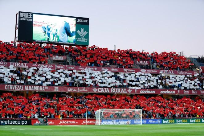 Los Cármenes se vestirá de gala para el derbi andaluz