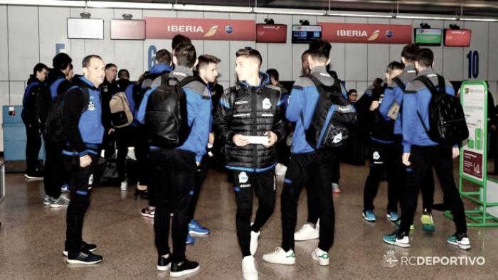 El Depor viajará el viernes a Sevilla para el partido liguero