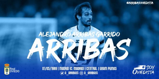 Alejandro Arribas apuntala la zaga del Real Oviedo