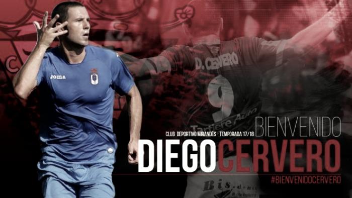 Diego Cervero refuerza la delantera del Mirandés