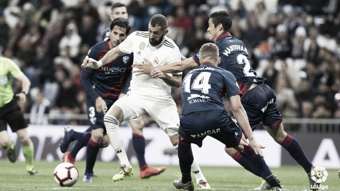 Último enfrentamiento frente al Real Madrid / Página oficial de la SD Huesca