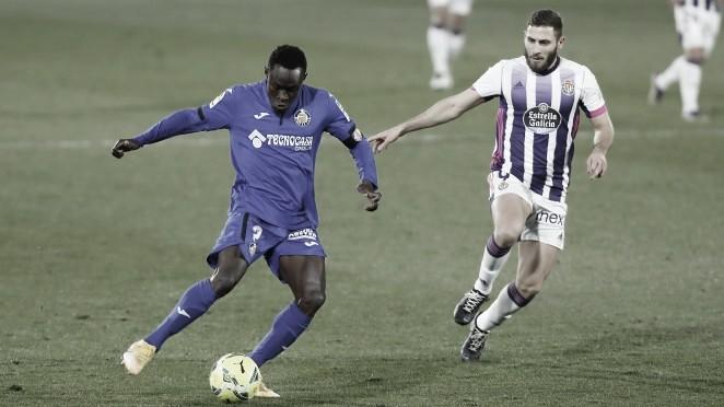 Real Valladolid 2-1 Getafe C.F: dos errores defensivos condenan a los azulones