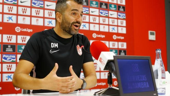 """Diego Martínez: """"Los jugadores que salgan se merecen jugar y confiamos al 100%"""""""