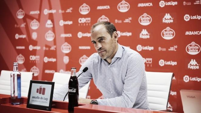Eloy Jiménez, entrenador del CD Lugo