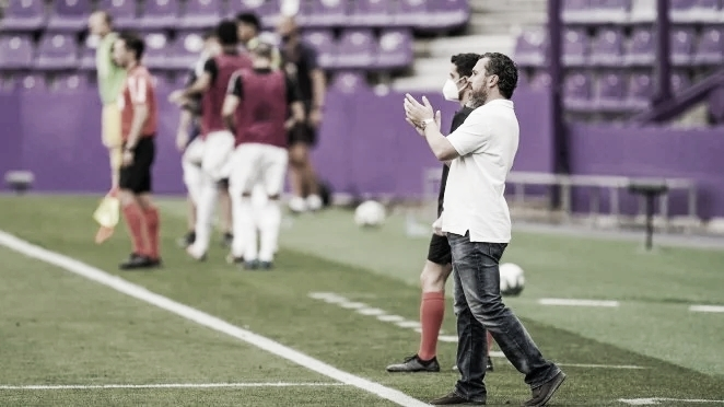 """Sergio: """"El equipo tiene la capacidad fortísima para estar en Primera"""""""