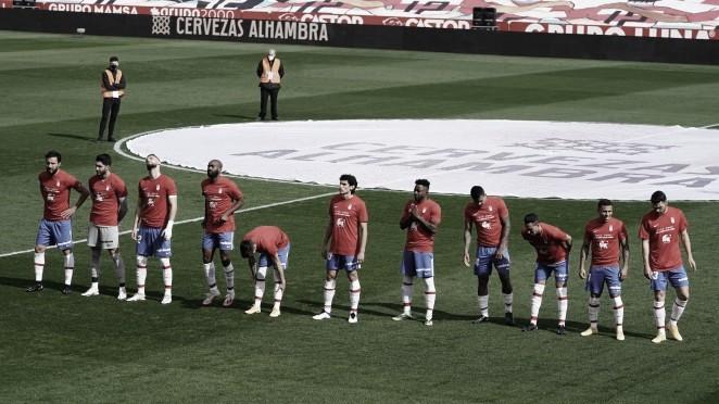 Granada CF - Atlético de Madrid: puntuaciones del Granada, jornada 23 de la Liga