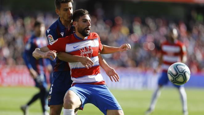 Previa Granada CF - Levante UD: misma intención, distintos objetivos