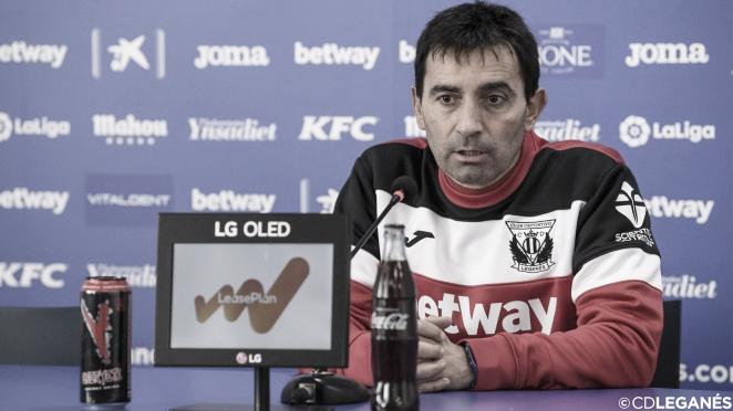 """Asier Garitano: """"La mentalidad de hacia dónde queremos ir es lo más importante"""""""