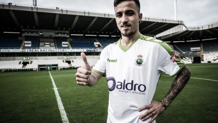 """Franco Acosta: """"Espero ayudar con goles y sacrificio al equipo"""""""