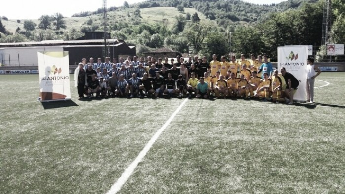 Los veteranos del Eibar, segundos en un triangular en Durango