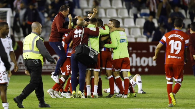 Los mejores recuerdos de los héroes del ascenso del Granada CF