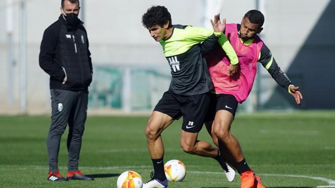 Jesús Vallejo, baja para el partido contra el Huesca