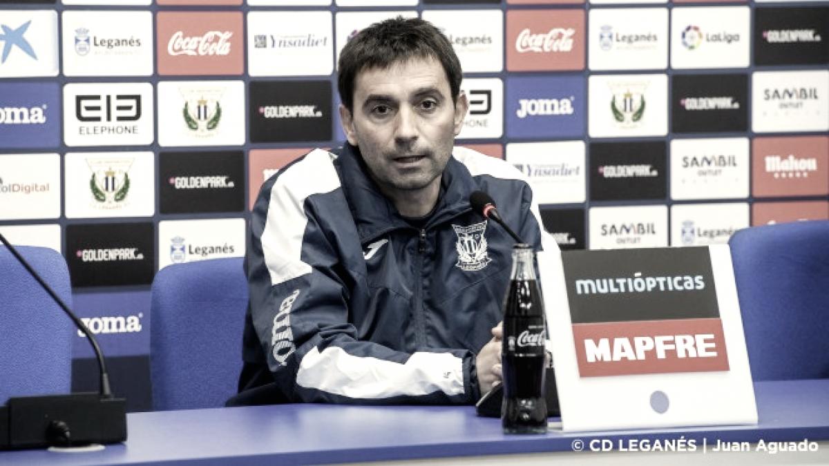 """Asier Garitano: """"Hay que jugar muchos más minutos a un nivel más alto"""""""