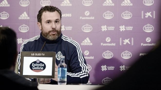 """Sergio González: """"Hay que valorar los 22 puntos. Nunca en descenso, siempre dando la cara"""""""