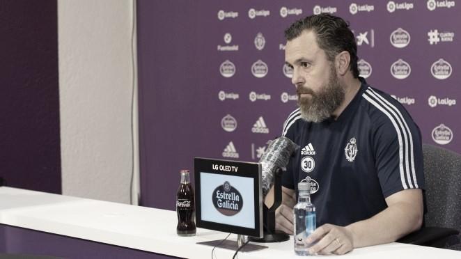 "Sergio González: ""Tenemos que dosificar esfuerzos e intentar equilibrarlos"""