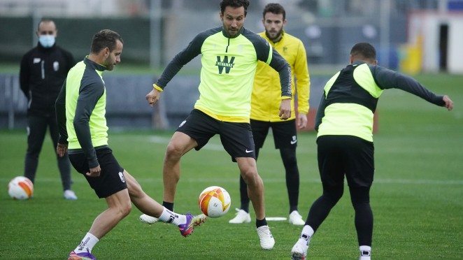 El Granada CF se preparará para recibir al PSV y al Huesca