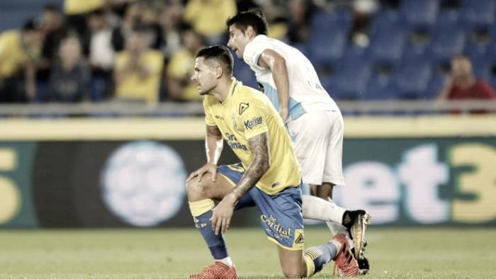 Vitolo cumple 100 partidos luciendo la camiseta amarilla