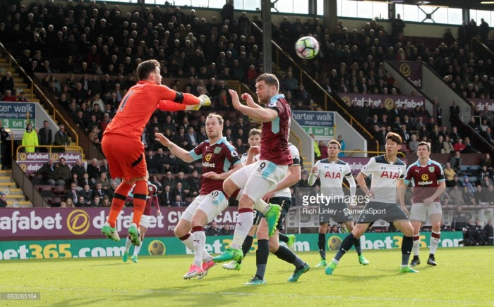 Chris Wood scores on Burnley debut to earn draw
