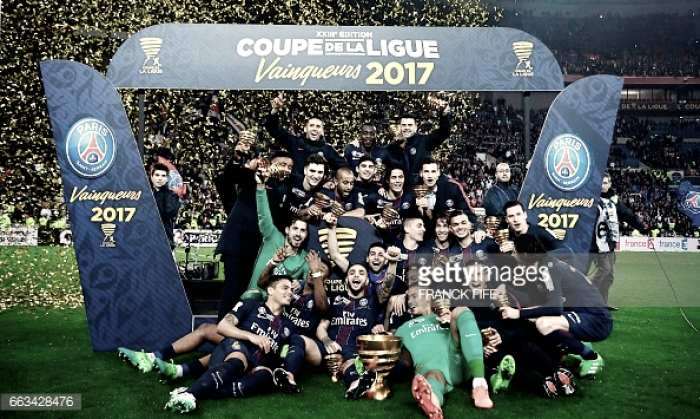 PSG conquista Taça da Liga: Mónaco sofre goleada