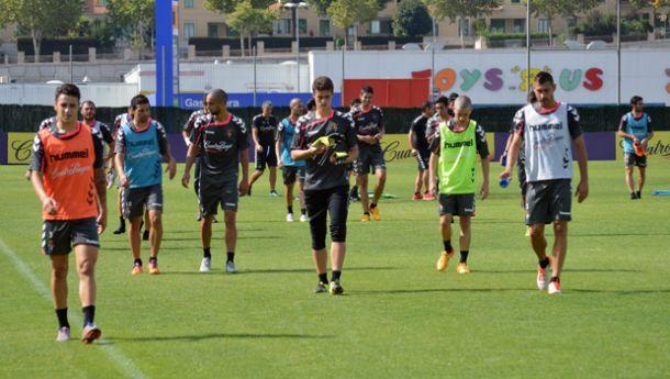 Nueva semana, nuevo entrenamiento del Real Valladolid