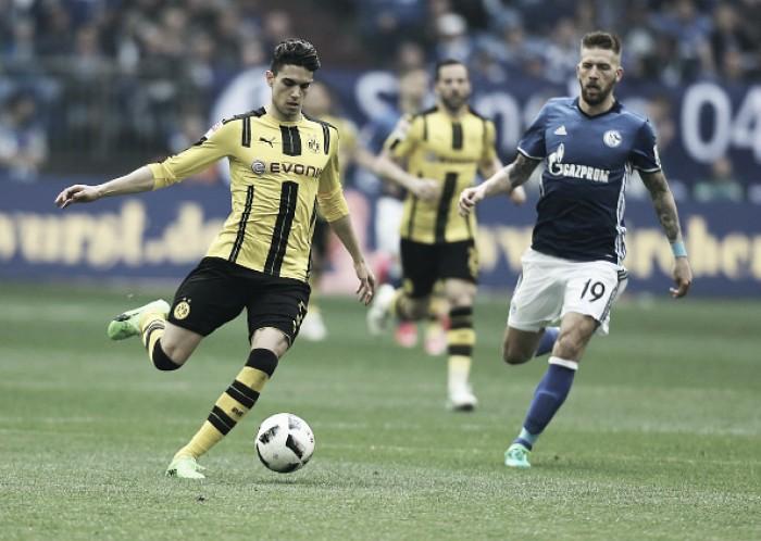 Em momentos diferentes, Dortmund e Schalke 04 disputam primeiro Revierderby do ano