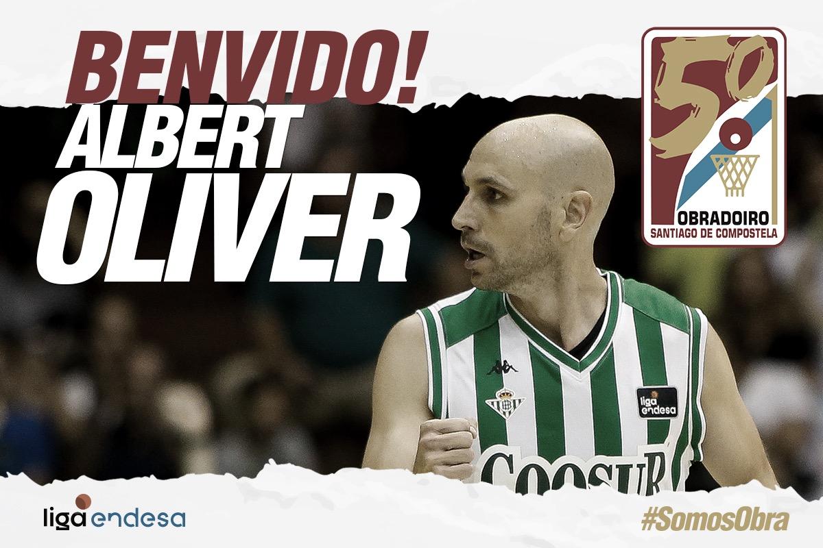 Albert Oliver firma un contrato de dos meses con Monbus Obradoiro