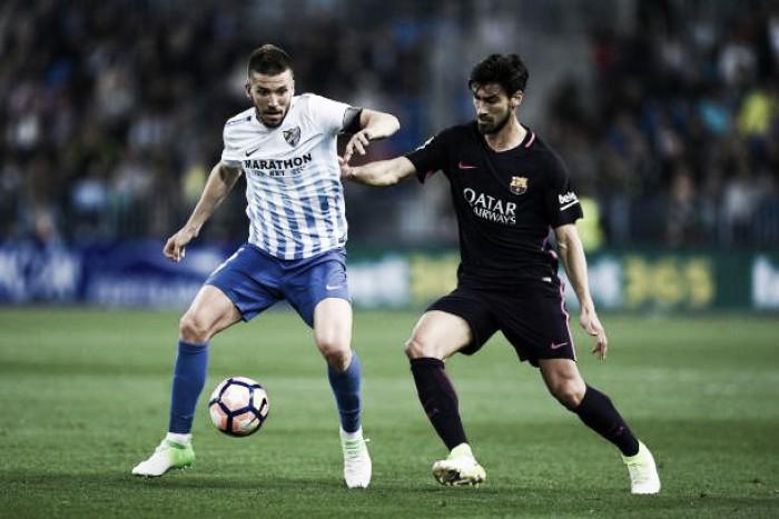 Resultado Barcelona x Málaga pelo Campeonato Espanhol 2017 (2-0)