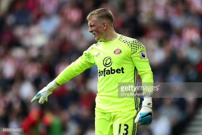 Jordan Pickford admits he isn't looking for an exit from the Stadium of Light