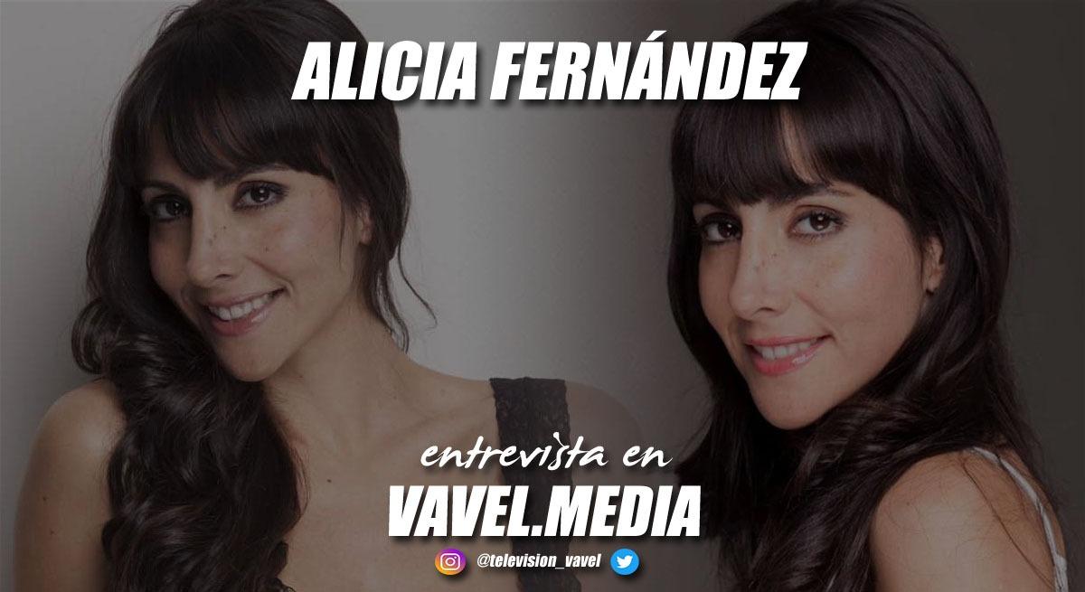"""Entrevista. Alicia Fernández: """"Mi sueño es trabajar siempre como actriz, ser una Concha Velasco"""""""
