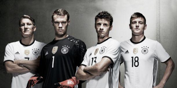 Adidas lança novo uniforme da Alemanha para a Euro 2016