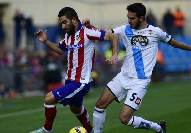 Atletico Madrid 2-0 Deportivo La Coruna: Goals from Niguez and Turan send Atletico second