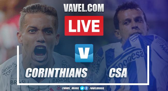 Resultado e Gol Corinthians 1x0 CSA pelo Brasileirão 2019