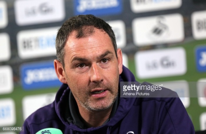Swansea City manager Paul Clement calls for the fans' support in relegation battle