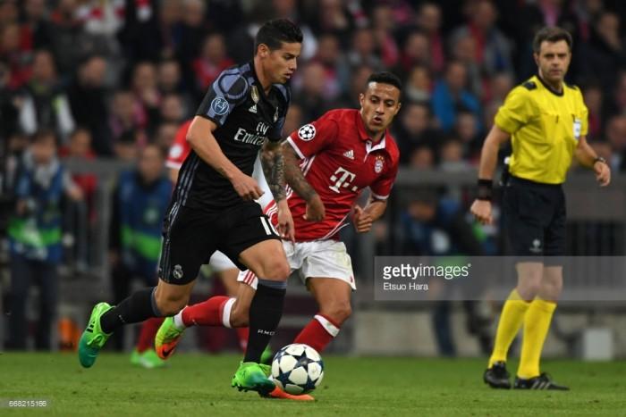 Bayern Munich capture James Rodríguez on loan