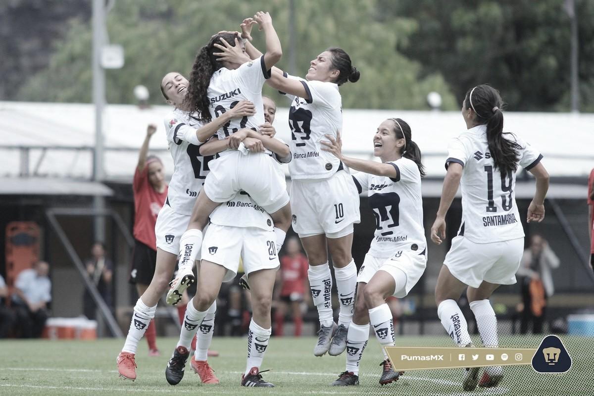 Pumas derrota a Xolos en el inicio de la Liga MX Femenil
