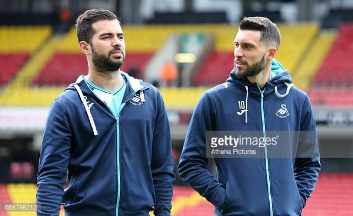 Swansea City could offload Borja Baston and Jordi Amat