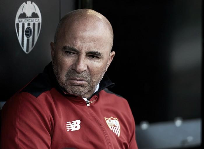 Jorge Sampaoli confirma interesse da Argentina, mas afirma negociar ao fim da temporada